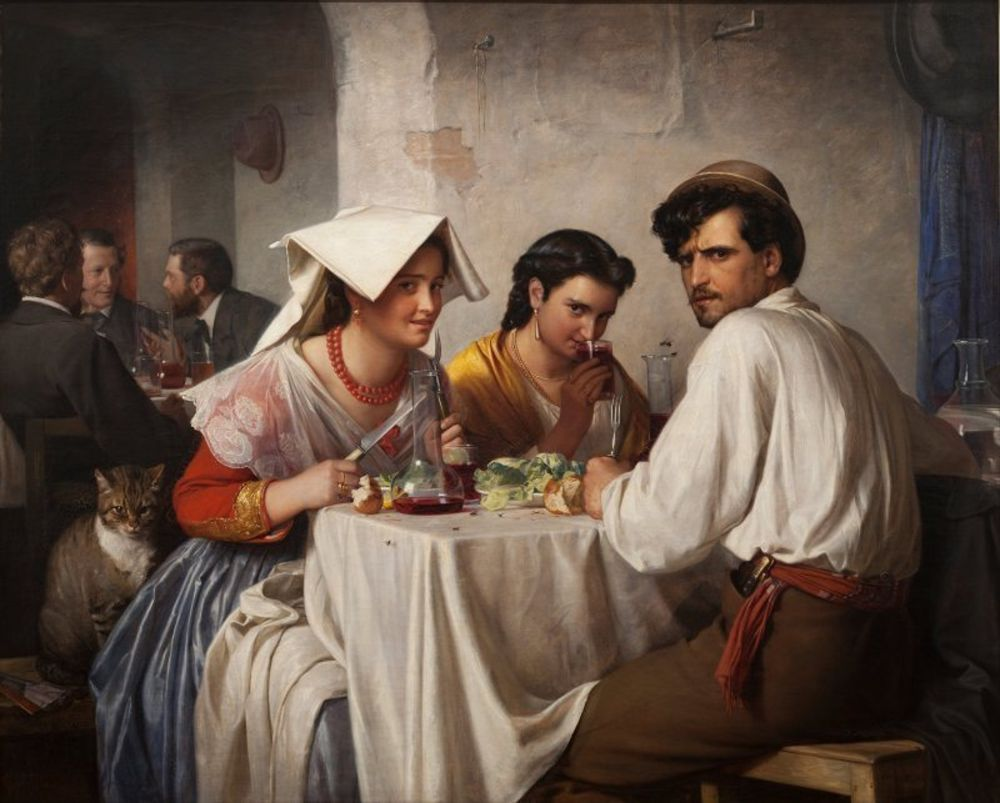 Carl Bloch -  In a Roman Osteria.jpg