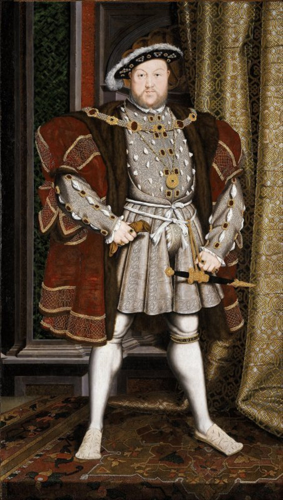 Workshop of Hans Holbein the Younger - Portrait of Henry VIII.jpg